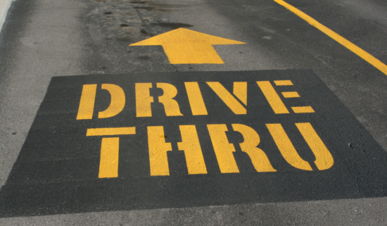 Top 20 things to do in a Drive-thru